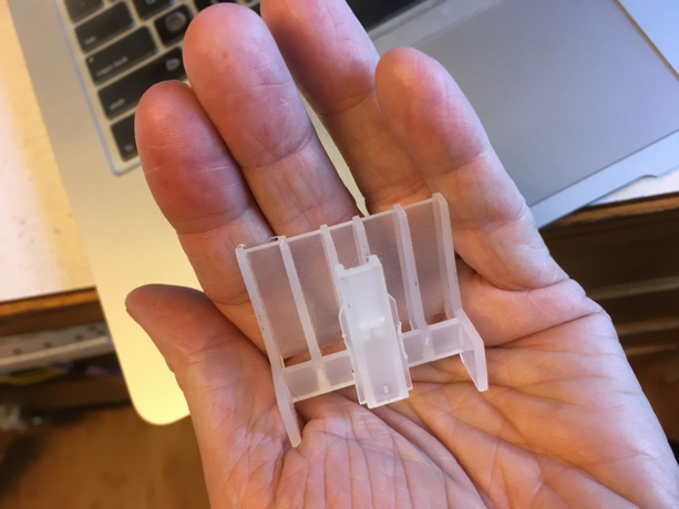 About those Weird Plastic Pieces from Inside the Front Door Panel of a Bosch Dishwasher