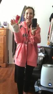 modify a big hoodie