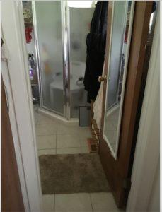 walker for narrow door doorway